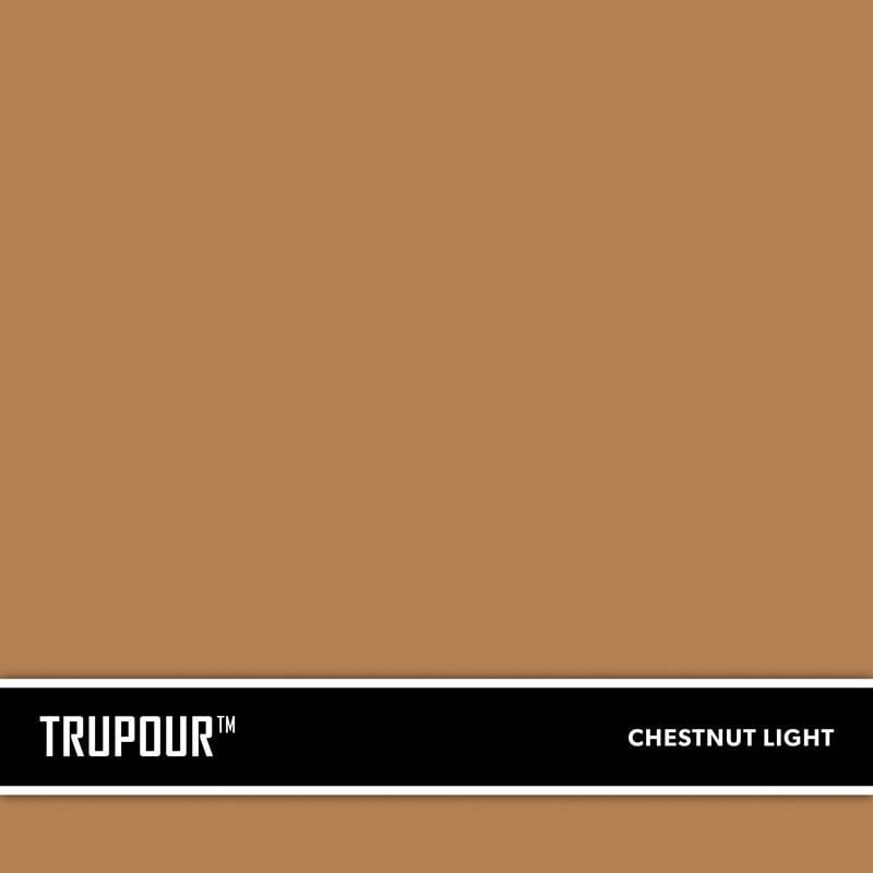 Light Chestnut Brown New Concrete Ready-Mix Truck Color TruPour™ by SureCrete