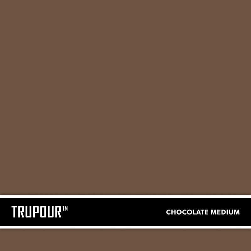 Medium Chocolate Brown New Concrete Ready-Mix Truck Color TruPour™ by SureCrete