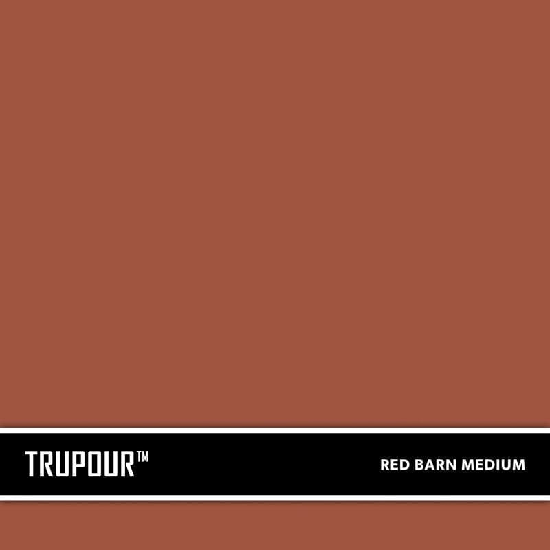 Red Barn Medium New Concrete Ready-Mix Truck Color TruPour™ by SureCrete