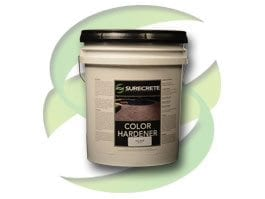 surecrete color hardener