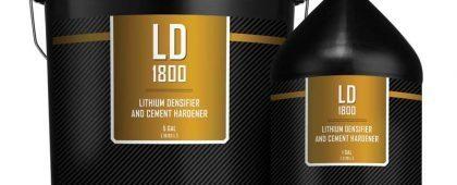 Concrete Hardener LD1800™ Concrete Lithium Densifier 1 and 5 Gallons by SureCrete