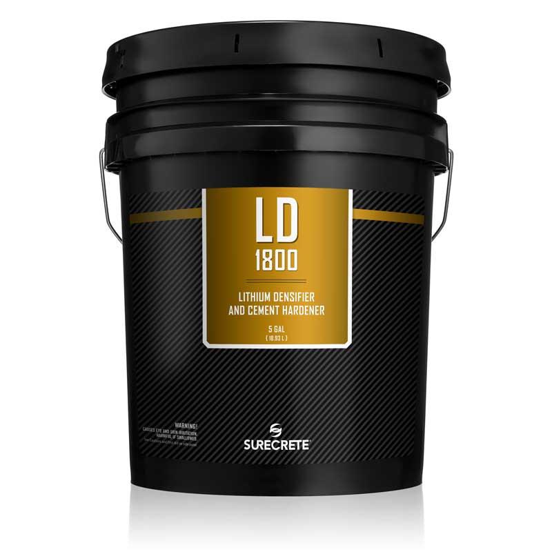 Concrete Hardener LD1800™ Concrete Lithium Densifier 5 Gallons by SureCrete