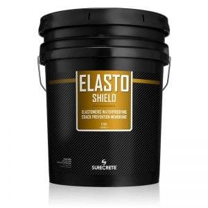 Concrete Waterproofing Rubber Like Coating Elastomeric Liquid 5 Gallons - ElastoShield™ by SureCrete