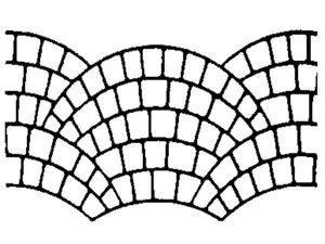 Non-Adhesive Fish Scale Stencil by SureCrete