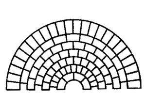 Non-Adhesive Large Circle Stencil by SureCrete