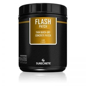 4 Lb. Bag Thin Concrete Repair Patching Fast Setting - Flash Patch™ by SureCrete