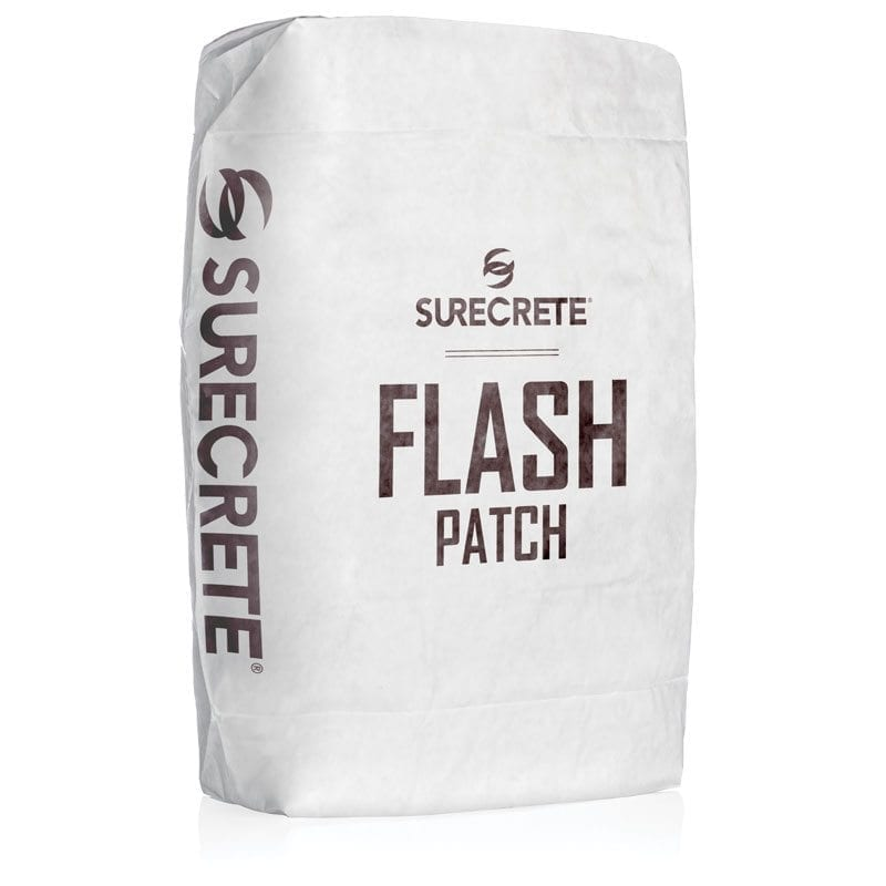50 Lb. Bag Thin Concrete Repair Patching Fast Setting - Flash Patch™ by SureCrete
