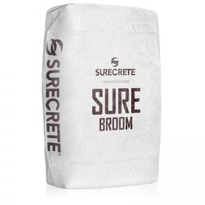 Driveway and Sidewalk Broom Concrete Overlay SureBroom™ by Sur