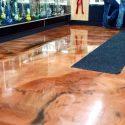 3 Color Metallic floor in Everett Washington