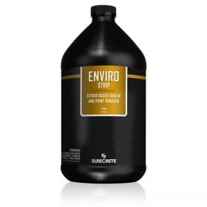 EnviroStrip is an acrylic sealer stripper that is non-flammable, water-based stripper for removing acrylic coatings or deeply embedded greasy soil removal on concrete floors. How to remove acrylic paint with a pleasant fresh citrus smell and performs efficient stripping without the use of flammable solvents and harsh chemicals.