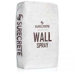 WallSpray™ is a lightweight thin concrete wall spray overlay mix that can resurface or texture virtually any vertical surface for both indoor and outdoor applications. Wall spray ready-to-go bag mix that is formulated to just add water and any of our 30 standard overlay color additives.