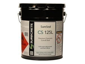 CS125LV Concrete Cure and Seal by SureCrete