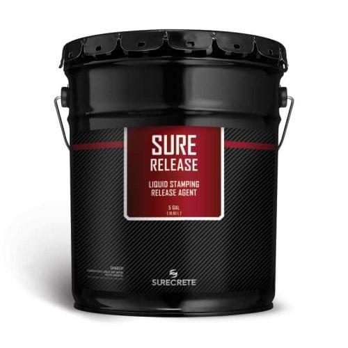 Concrete Liquid Release for Stamping Concrete Overlays