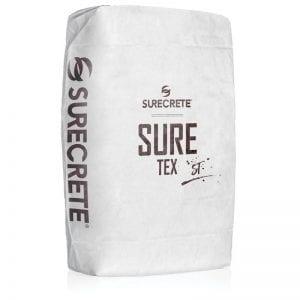 50 Lb. Texture Concrete Floor Overlay Slow Cure SureTex ST™ by SureCrete