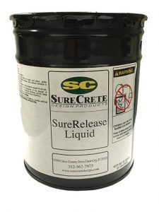 SureRelease Concrete Liquid Release Agent for Stamping Concrete