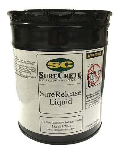 SureRelease Concrete Liquid Release Agent for Stamping Concrete