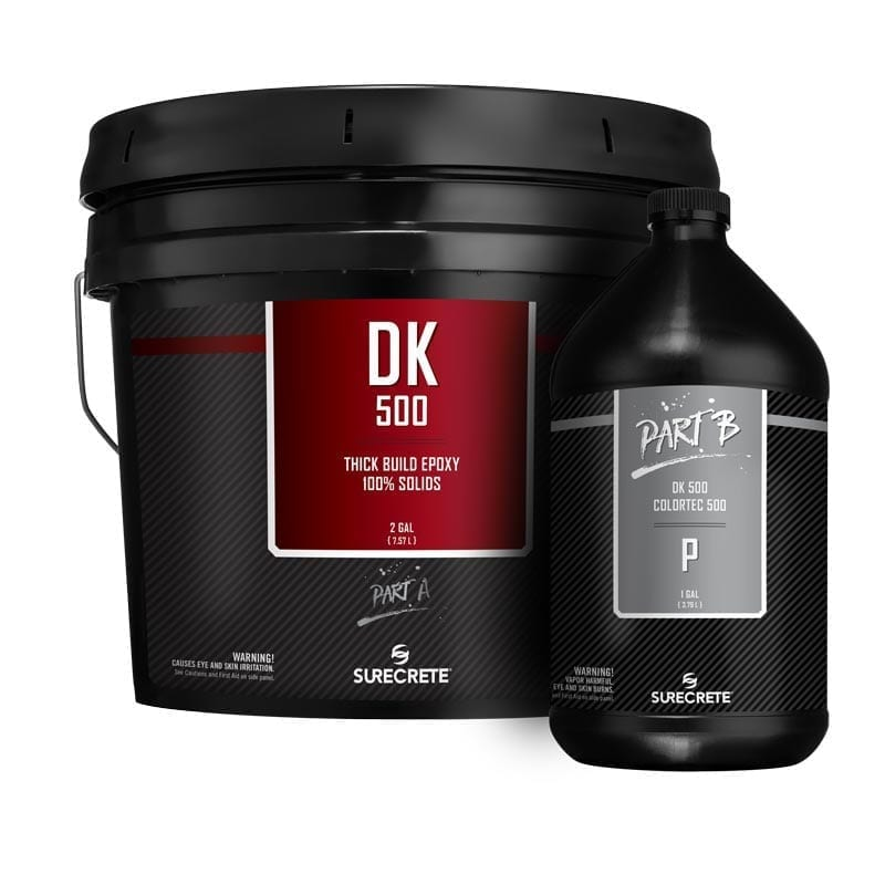 Premium Clear Floor Epoxy 100% Solids Low Viscosity Option DK 500™