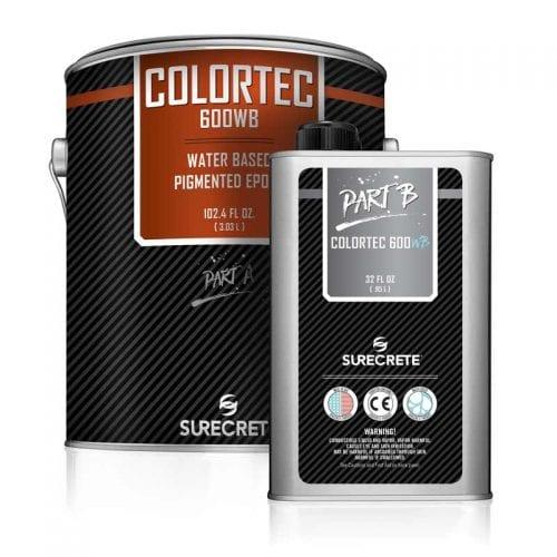 Concrete Floor Epoxy 250 Colors Water-Based Colored ColorTec 600WB™