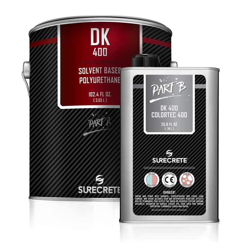High Gloss Floor Polyurethane Solvent Based DK 400™ by SureCrete
