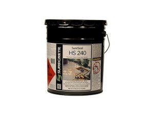 Premium Exterior Clear Stamped Concrete Sealer HS 200 Series 20% Solids