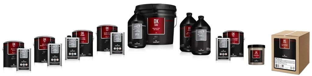 SureCrete Dura Kote, DK Clear Concrete Sealers and Coatings Product Lineup