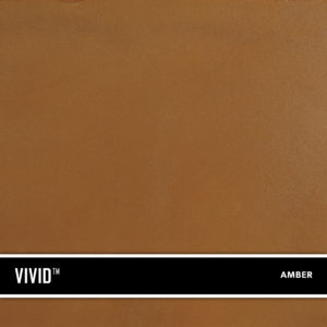Amber VIVID™ is a reactive acid stain that creates a beautifully variegated appearance on concrete and cement based overlays.
