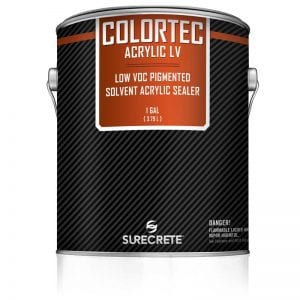 1 Gallon Driveways Sidewalk Concrete Colored Paint Low VOC ColorTec Acrylic LV™ by SureCrete