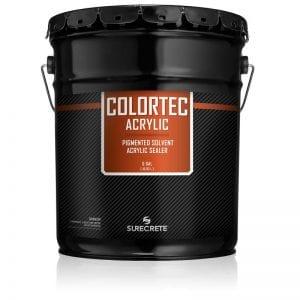5 Gallons Driveways Sidewalk Concrete Colored Paint 600 VOC ColerTec Acrylic™ by SureCrete