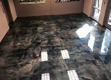 DIY Metallic Epoxy Floor Kit