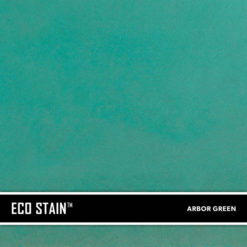 Arbor Green Concrete Stain Water Based Semi Transparent UV Stable Eco-Stain -40