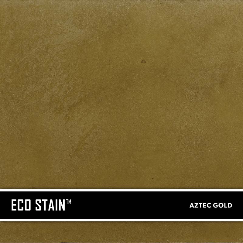 Aztec Gold Concrete Stain Water Based Semi Transparent UV Stable Eco- Stain -70