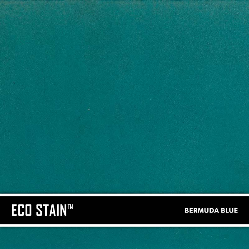 Bermuda Blue Concrete Stain Water Based Semi Transparent UV Stable Eco- Stain -70