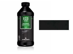 Black Domino Concrete StainWater BasedSemi Transparent UV Stable Eco-Stain -48