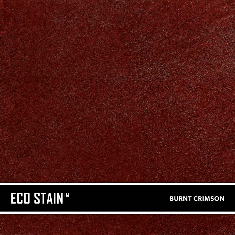 Burnt Crimson Concrete Stain Water Based Semi Transparent UV Stable Eco- Stain -70