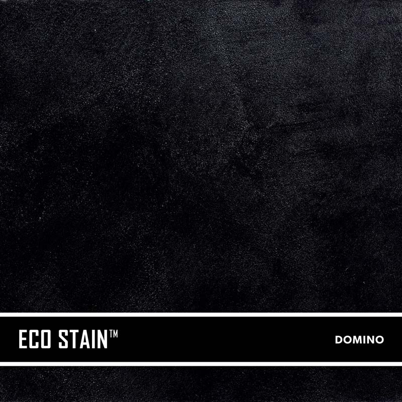 Domino Black Concrete Stain Water Based Semi Transparent UV Stable Eco- Stain -70