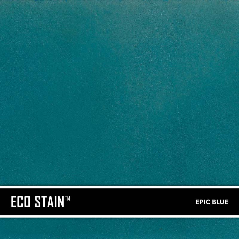 Epic Blue Concrete Stain Water Based Semi Transparent UV Stable Eco-Stain -49