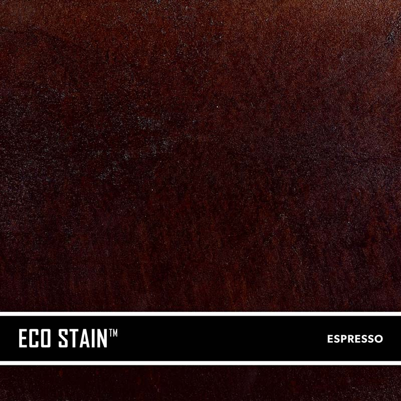 Espresso Brown Concrete Stain Water Based Semi Transparent UV Stable Eco-Stain -50