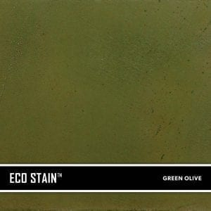 Green Olive Concrete Stain Water Based Semi Transparent UV Stable Eco-Stain -53