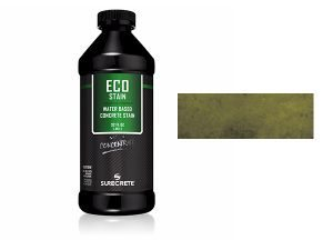 Green Olive Concrete StainWater BasedSemi Transparent UV Stable Eco-Stain -53