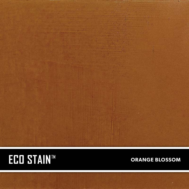 Orange Blossom Concrete Stain Water Based Semi Transparent UV Stable Eco-Stain -61