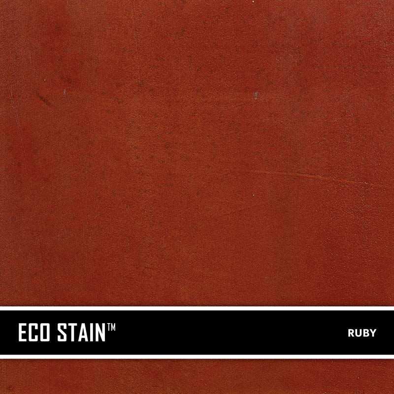 Ruby Concrete Stain Water Based Semi Transparent UV Stable Eco-Stain -63