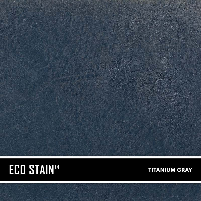 Titanium Gray Concrete Stain Water Based Semi Transparent UV Stable Eco- Stain -70