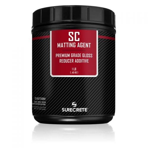 1 Pound Concrete Sealer Matting Agent Clear for Sealers SC Matting Agent™ by SureCrete