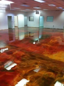 multi color epoxy floor coating