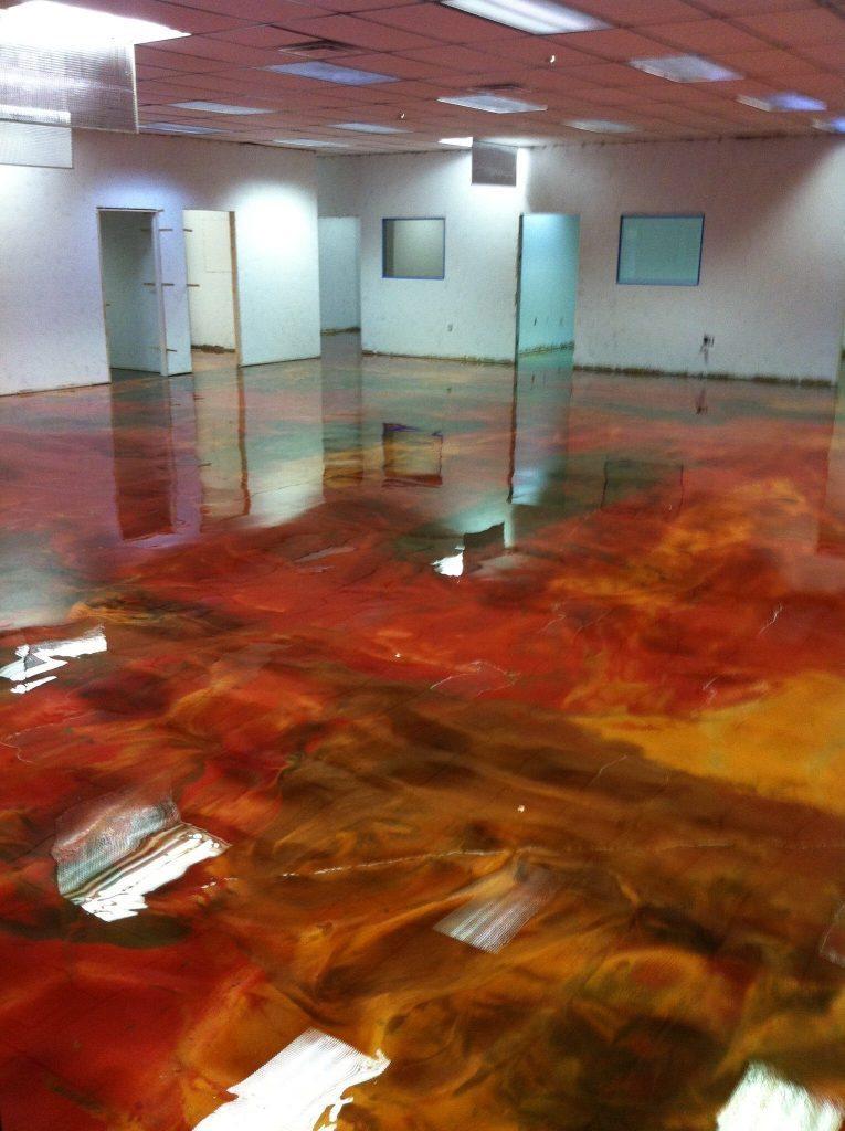 Multi Color Epoxy Floor Coating Surecrete Products