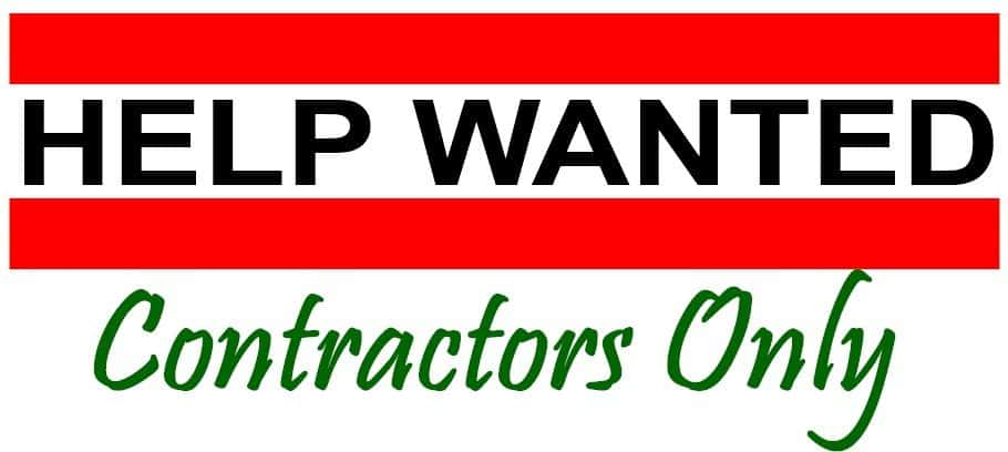 SureCrete contractors wanted