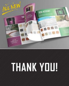 Thank you for Downloading SureCrete's All New Product Catalog