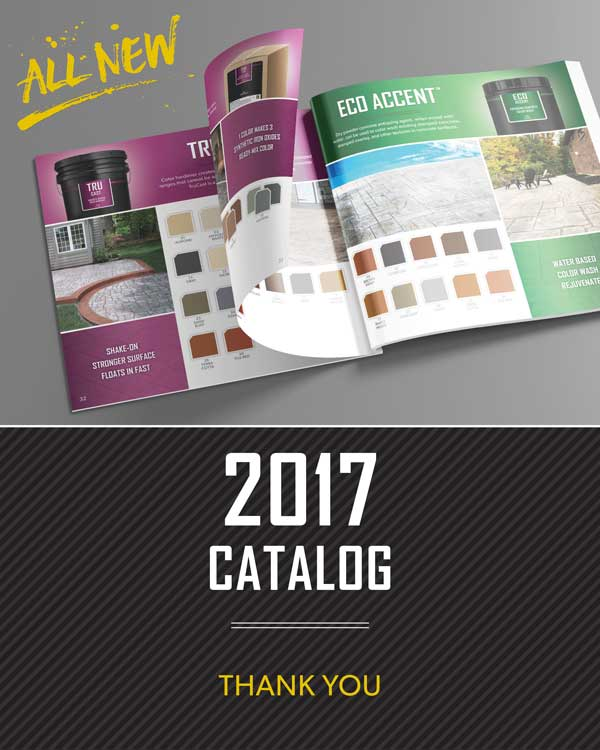 Thank you for requesting SureCrete all new catalog