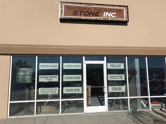 Sierra Nv: Carson City Nevada SureCrete Product Dealer Location