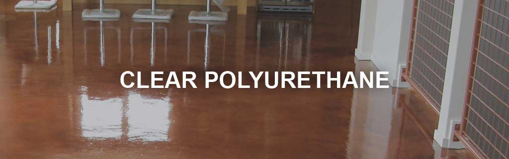 Clear Polyurethane Top Coat Floor Sealers